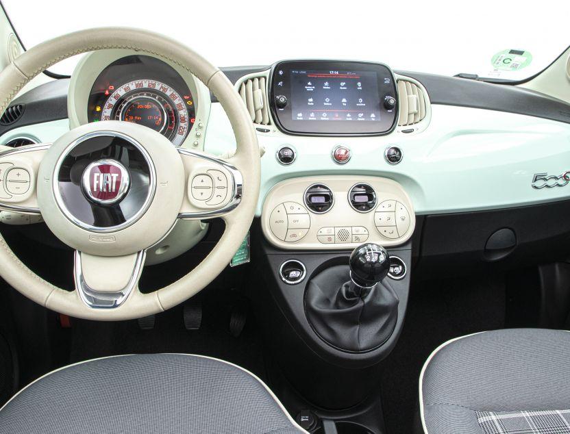 Interior de Fiat 500c