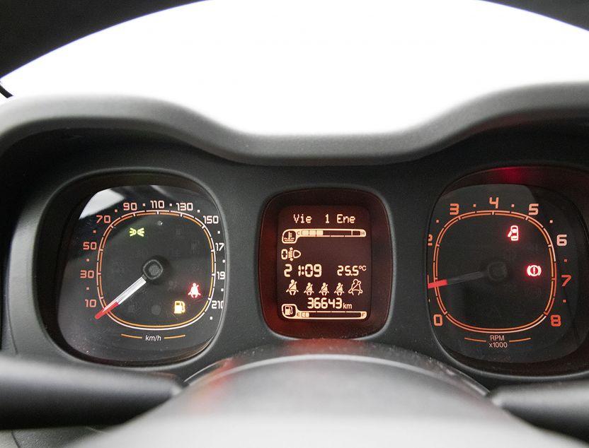 Interior de Fiat Panda