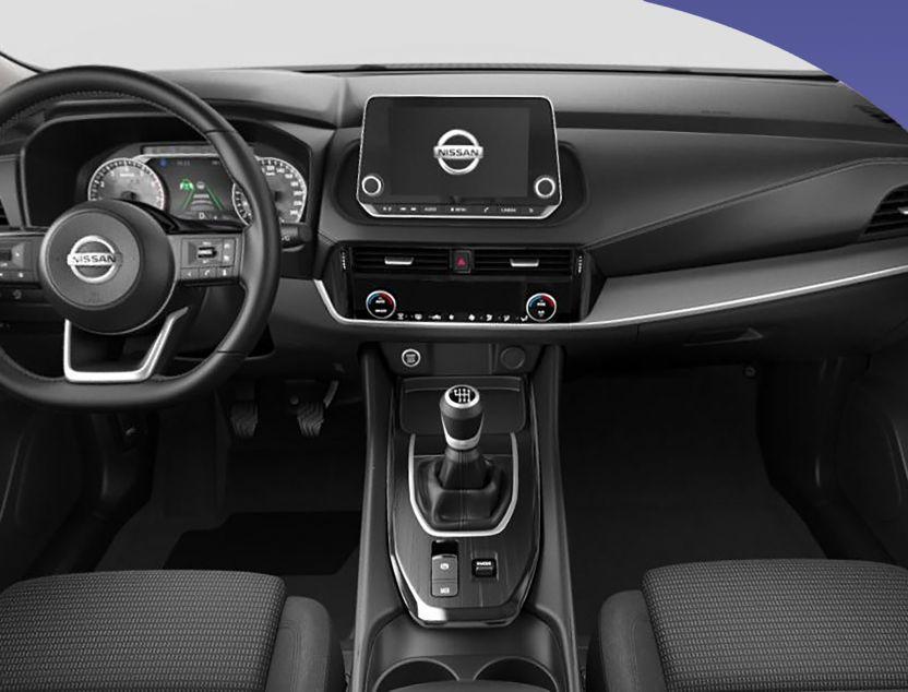 Interior de Nissan Qashqai
