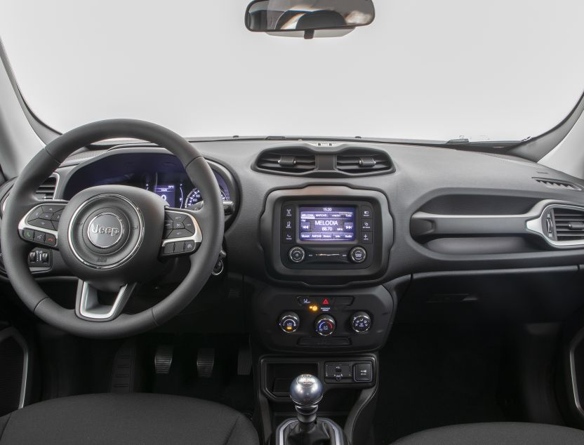 Interior de Jeep Renegade