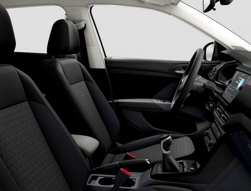 Interior de Volkswagen T-cross