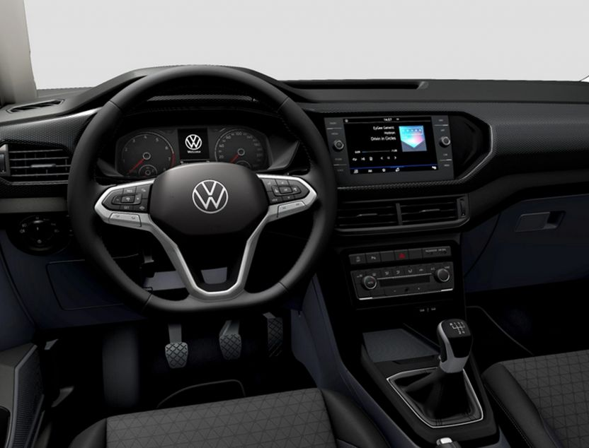 Interior de Volkswagen T-cross