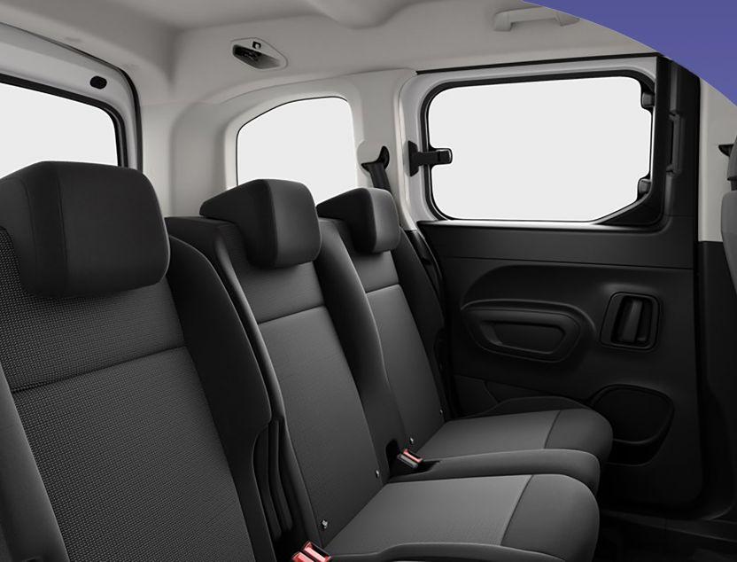 Interior de Peugeot Rifter