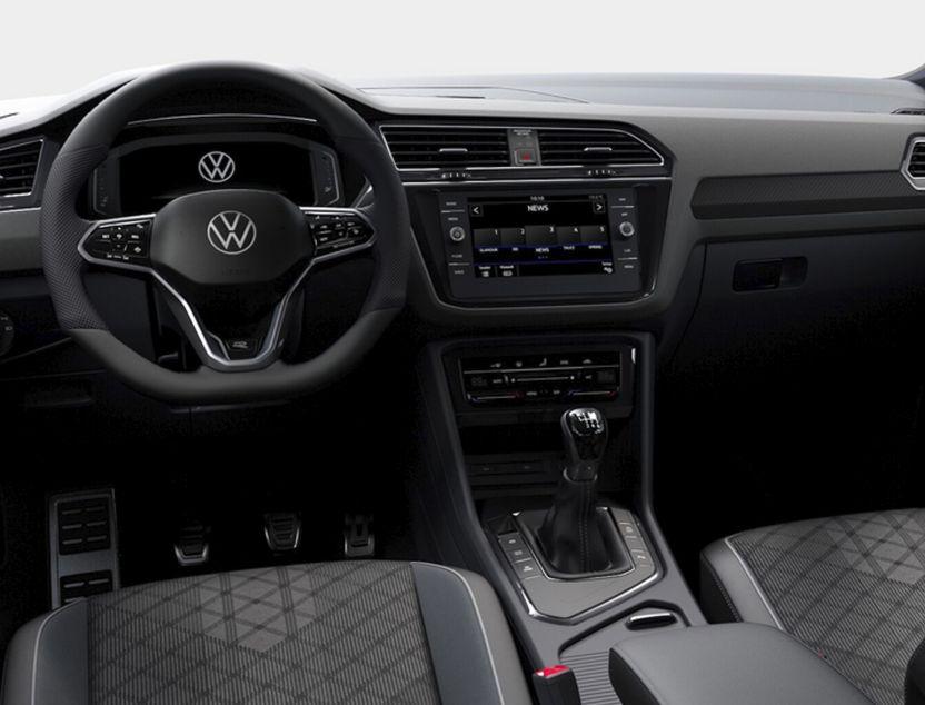 Interior de Volkswagen Tiguan