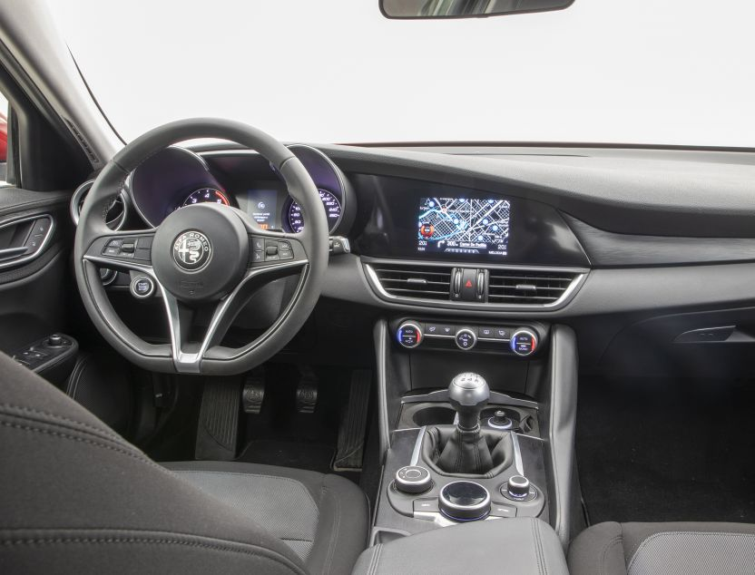 Interior de Alfa Romeo Giulia