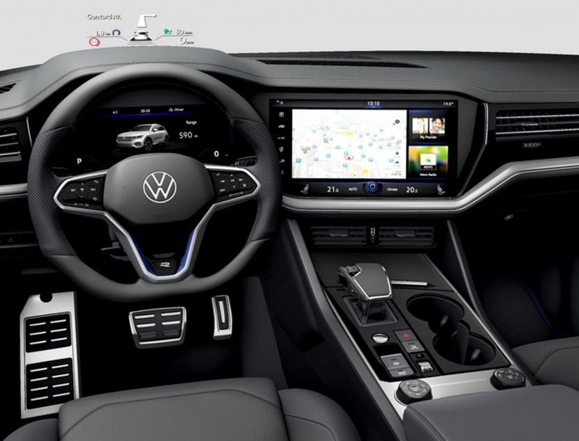 Interior de Volkswagen Touareg