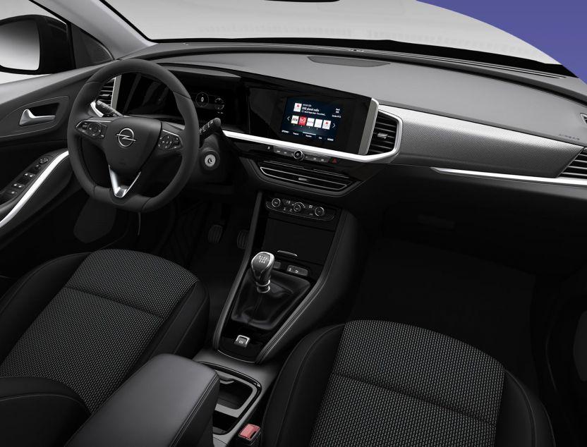 Interior de Opel Grandland x