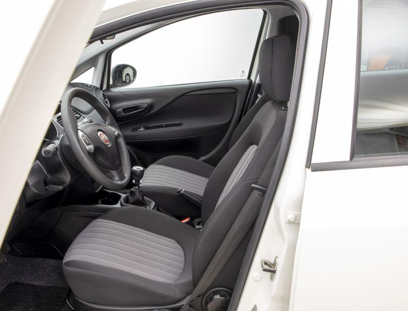Interior de Fiat Punto