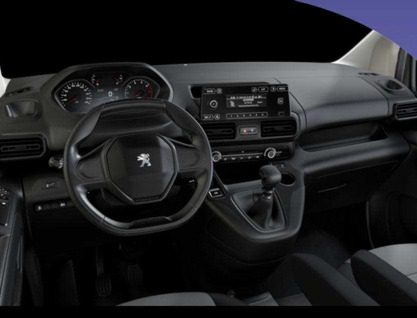 Interior de Peugeot Partner