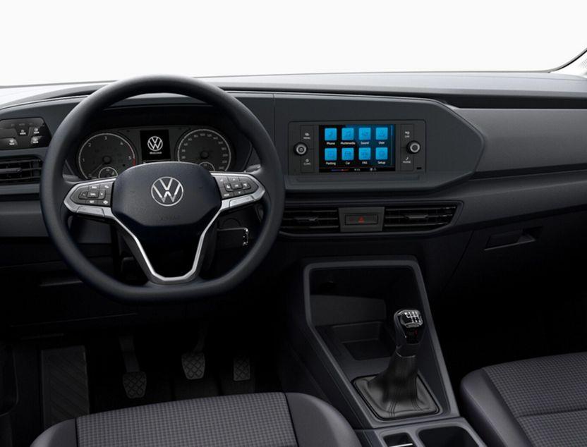 Interior de Volkswagen Caddy