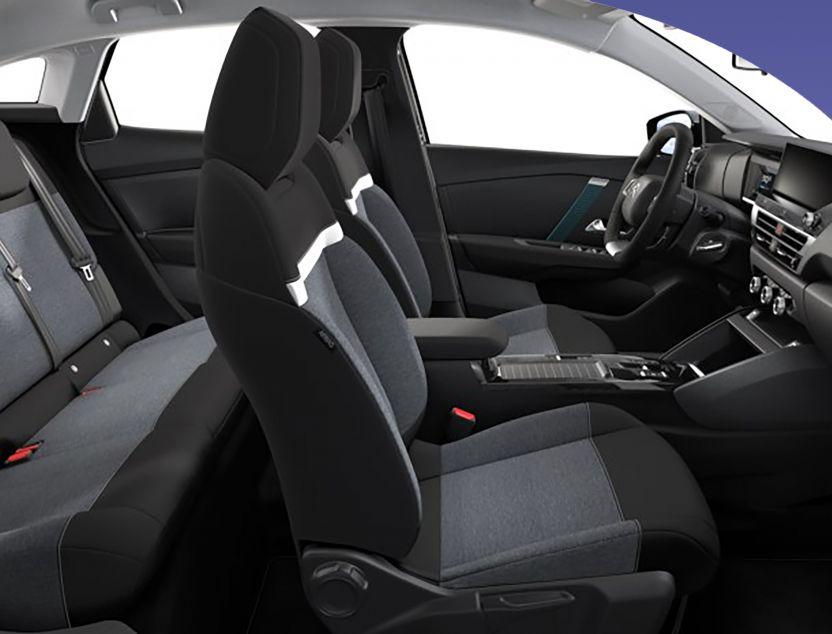 Interior de Citroen C4