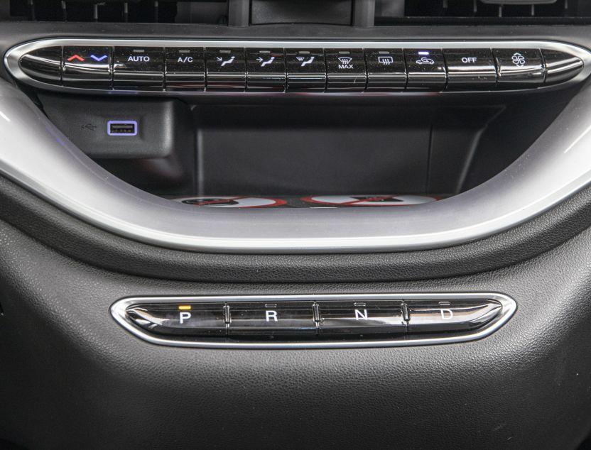 Interior de Fiat 500e